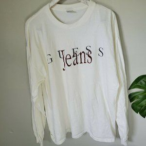 Vintage Guess Jeans Georges Marciano Spell Out L